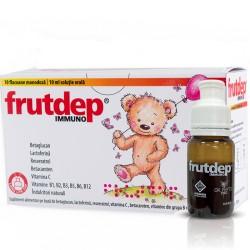 FRUTDEP ® IMMUNO soluție orală 100 ml (10 monodoze x 10 ml)