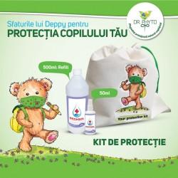 Kit dezinfectant 50ml + refill de 500ml